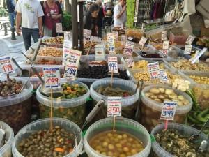 olives-tapas-cucumbers-granada-food
