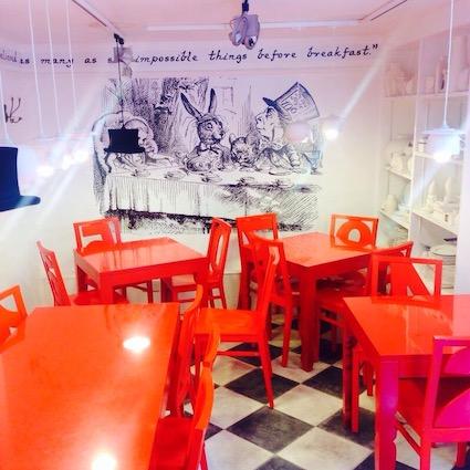 Wonderland cafe, Victoria Park